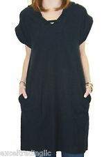 STEVEN ALAN Navy Blue Sleeveless Cotton Mary Anne Dress WDR0090CT NWT $248