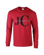 JC Jesus Christ Christian Religious Long Sleeve T-Shirt