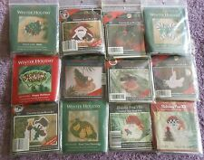 YOUR CHOICE: MILL HILL COUNTED GLASS BEAD/CROSS STITCH KITS (WINTER) HOLIDAY