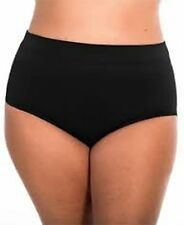 Miraclesuit Basic Pant Slimming High Waist Classic Bottom BLACK Size 18 20 22 24