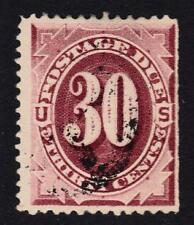 US: Sc J27     30c POSTAGE DUE 1891 used  CV $225
