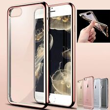 For Apple iPhone 7/7 Plus Ultra Thin Silicone Soft Clear TPU Back Case Cover New