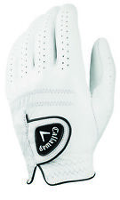 New Callaway Golf Tour Authentic 14 Golf Glove MLH White Cadet Extra Large