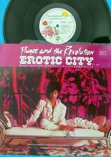"Prince Rare GER PS 12"" Erotic city Let's go crazy Extended version Take me NM 85"