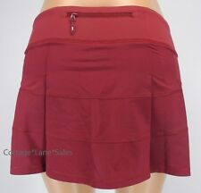 NEW LULULEMON Pace Rival Skirt REG 2 4 6 8 10 Rosewood NWT Run FREE SHIP