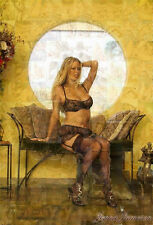 JENNA JAMESON photo mosaic cm. 30x41 poster with hundreds of sexy erotic pics 8