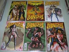 PANTHA 1 2 3 4 5 6 COMPLETE SET (Dynamite 2012) Mark Texeira covers (FN/VF)