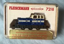 FLEISCHMANN PICCOLO 7218 N GAUGE ELB BLUE 0-6-0 DIESEL SWITCHER LOCO #11 LOT2
