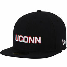 UConn Huskies New Era Basic 59FIFTY Fitted Hat - Navy - NCAA