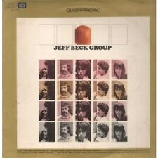 JEFF BECK GROUP S/t LP 9 Track Quadrophonic Issue Sleeve Has Ringwear And Ink Ma