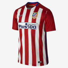 2015 / 2016 - NIKE ; ATLETICO MADRID HOME SHIRT SS  = SIZE ADULTS