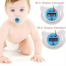 Infants LED Pacifier Thermometer Baby Health Safety Temperature Monitor Kids WB