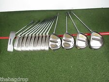 Complete Golf Club Set Golden Bear Woods, Square Two S2 Irons, R-Flex 14 Clubs