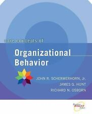 Core Concepts of Organizational Behavior by Richard N. Osborn Paperback Book