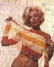 MARILYN MONROE photo mosaic cm. 30x41poster with a lot of pics 2 -