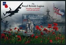 Gibraltar 1265,MNH. Royal British Legion,2011.Troops in actions.