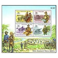 New Zealand 814a sheet,MNH.Michel Bl.6. NZ Military History,1984.