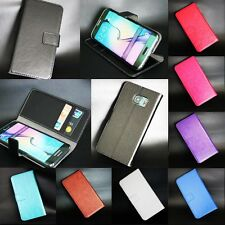 Luxury Magnetic Flip PU Leather Wallet Card Slot Stand Case Cover For LG