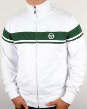 Sergio Tacchini Masters II Track Top in White & Green
