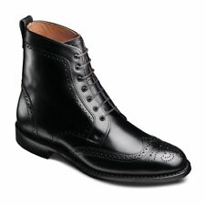 Allen Edmonds Men's Dalton Wingtip Dress Boots With Dainite Rubber Sole