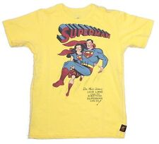 DC Comics Trunks LTD Superman Lois Lane Yellow Kids Youth T Shirt NEW
