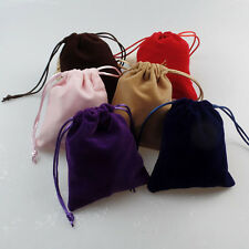 Pure Handmade Jewelry Velvet Bags Gift Bag Bundle Mouth Pull Rope XLZ-719