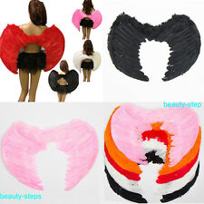 Angel Wings Feather Wings Halloween Party Costume Christmas Night Fancy Dress
