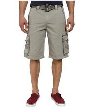 NEW MENS AFFLICTION PREMIUM COMMITMENT CARGO SHORT SIZE 32 BELTED SHORTS