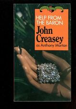 Mystery Paperback. John Creasey: Help from the Baron. Walker 3000. 040617