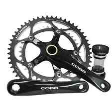 Cobb Cycling Compact Road Crankset 50/34T 155mm Black