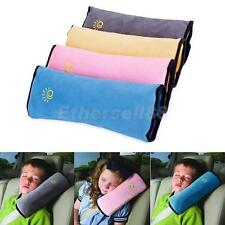 Car Safety Seat Belt Pillow Shoulder Strap Pad Cushions Head Supports Kids