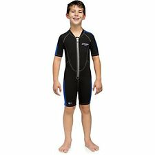 Cressi Kids Lido Wetsuit Shortie Suit - Dark/Blue, Medium