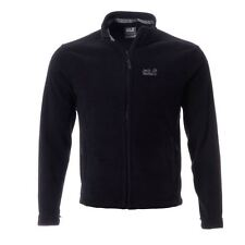 Jack Wolfskin Mens Moonrise Fleece Jacket Outdoor Warm Up High Neck Full Zip Top