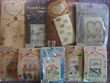 CHOOSE ONE: WHAT'S NEW COUNTED CROSS STITCH KITS-COUNTRY WIREWORKS/QUILT/HANGING
