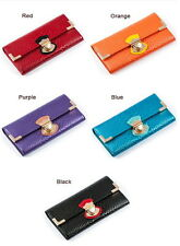 Luxury Ladies Leather Wallet Wallet Coin Purse red black blue Wallet NEW