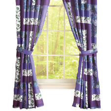 Caledonia Lavender Floral Drapes, by Collections Etc