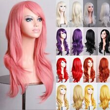 Best Quality Halloween Cosplay Full Wigs 100% Syntheetic Hair Curly Wave Wigs d0