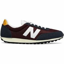 New Balance 410 Classic  Burgundy Mens Trainers