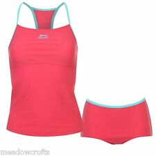 Slazenger Tankini Pink Size 6 8 10 12 14 16 18  NEW Costume Swimsuit Swim