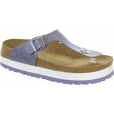 Papillio By Birkenstock GIZEH Ladies Womens Platform Toe Post Sandals Lavender