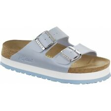 Papillio By Birkenstock ARIZONA Ladies Womens Platform Sandals Graceful Blue