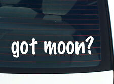 got moon? FAMILY TREE REUNION LAST NAME SURNAME DECAL STICKER CAR WALL CUTE