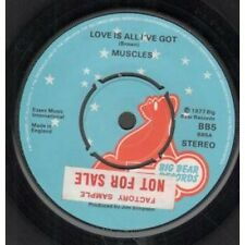 "MUSCLES (70'S GROUP) Love Is All I've Got 7"" B/w I'm Gonna Synthesise You (bb5)"