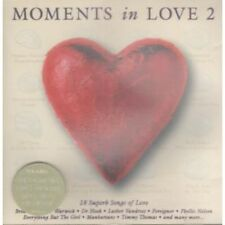 MOMENTS IN LOVE 2 Various CD 18 Track Compilation Featuring Rick Astley, Champai