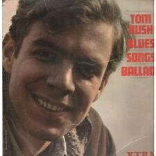 TOM RUSH Blues, Songs And Ballads LP 12 Track In A Flipback Sleeve Edgewear But