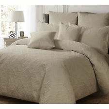 Ashton LATTE Quilt Doona Duvet Cover Set - SINGLE DOUBLE QUEEN KING Super King