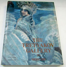 TRETYAKOV GALLERY in MOSCOW ILLUSTRATED ART ALBUM icons paintings book
