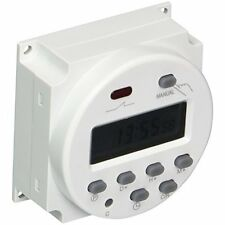 AC 220V-240V LCD Digital Power Programmable Timer Switch Time Relay 16A