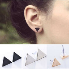 Women Lady Punk Style Simple Triangle Earring Street Style Ear Stud Earrings HS