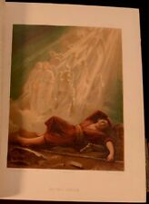 1870 John Eadie The Holy Bible Illustrated Brass Clasps Read Family